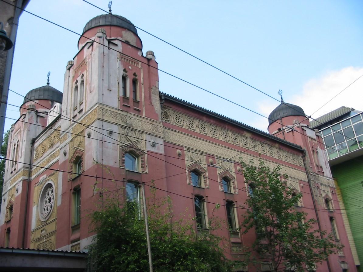Synagogan i Sarajevo. Foto: Donar Reiskoffer (2003)