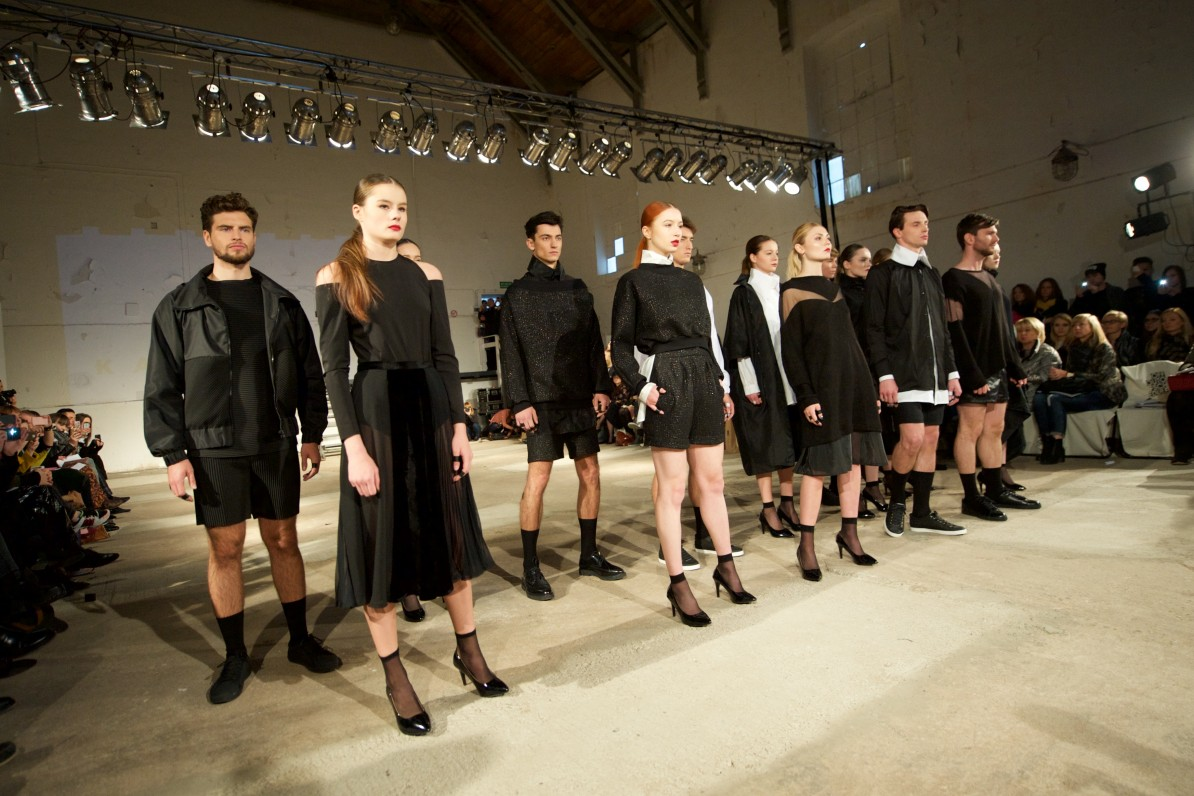 Kas Kryst Spring/Summer 2015 presenterades på Out of Schedule på Fashion Week Poland. Foto: Łukasz Szeląg